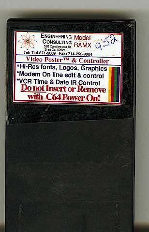 Commodore 64, C-64 cartridges images photos cartridges